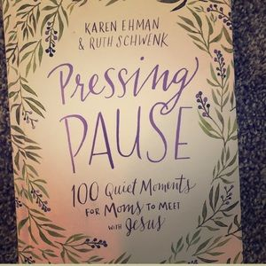 'Pressing pause' Pregnancy Book